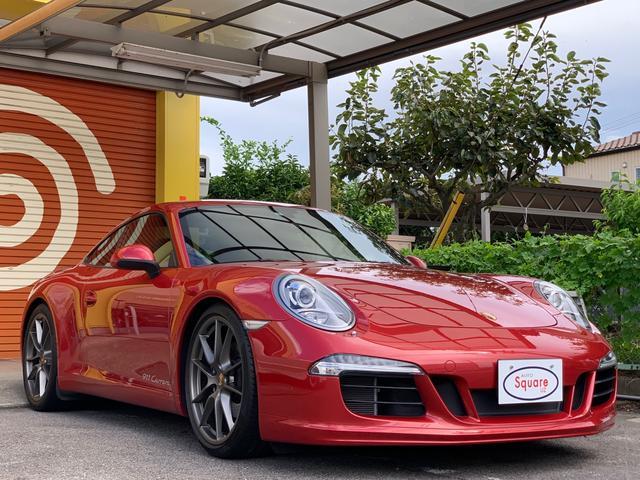911カレラ スポーツデザインバンパー&ステアリング&スポーツプラス20インチカレラSオールレザーインテリアなどオプション付(3枚目)