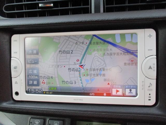 販売店オプションの7インチSDナビ搭載のお車になります☆ワンセグ放送の視聴が可能です☆