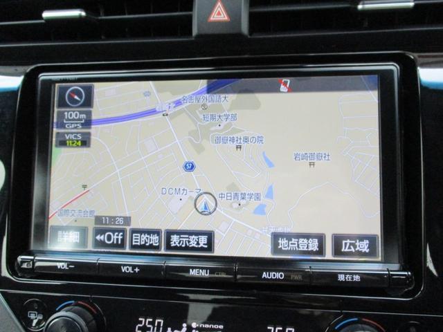 販売店オプションの9インチSDナビつきの車両です!フルセグ放送の視聴も可能です!!
