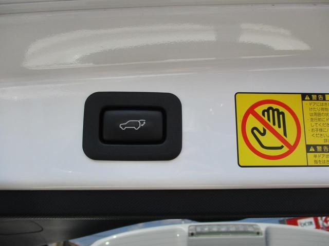 ボタン一つでドアを閉められるパワーバックドア付きのお車になります!!