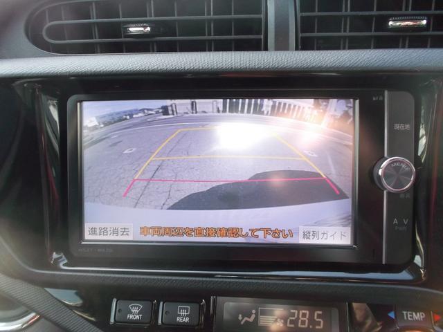 トヨタ アクア G G's ワンオーナー フルセグSDナビBカメラ