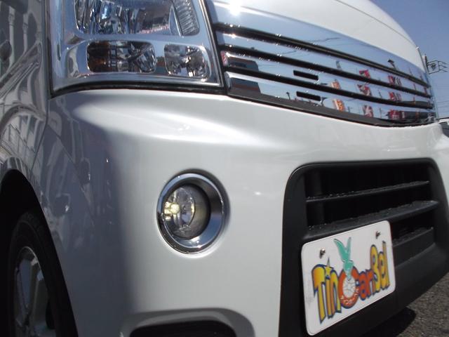 スズキ エブリイワゴン PZターボ 両側PスライドDフルセグナビHIDヘッド