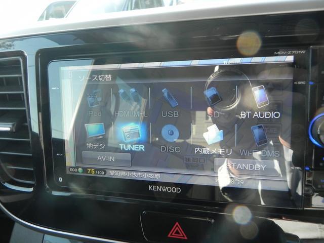 CD・DVD再生・音楽録音・Bluetooth・フルセグと幅広いメディアに対応!