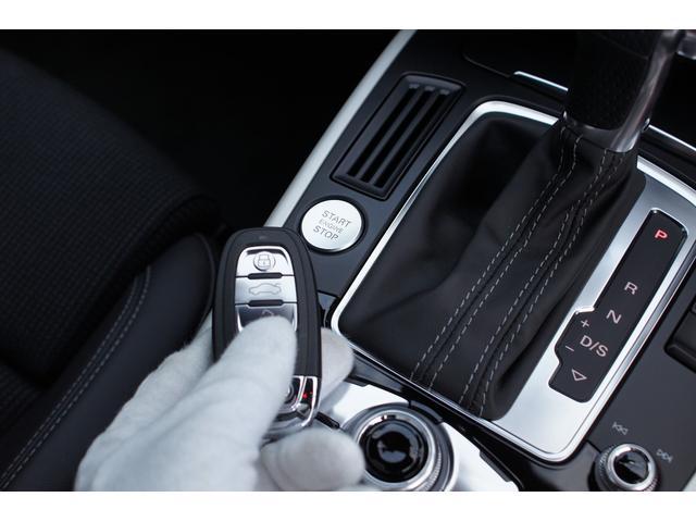 アウディ アウディ A4 2.0TFSISラインHDDナビ地デジ黒革1オーナー1年保証