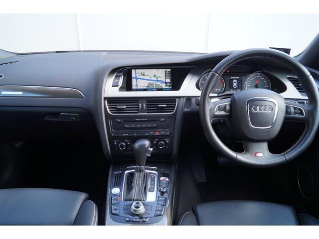 アウディ アウディ S4 クワトロ4WD限定車バンオブ革1オーナーナビBカメラ1年保証