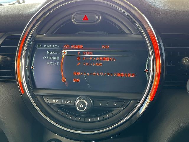 クーパーD 純正HDDナビ コンフォートアクセス ペッパーPKG ETC車載器 Bluetooth AUX/USB OP17inアルミ LEDヘッドライト プッシュスタート オートエアコン(37枚目)