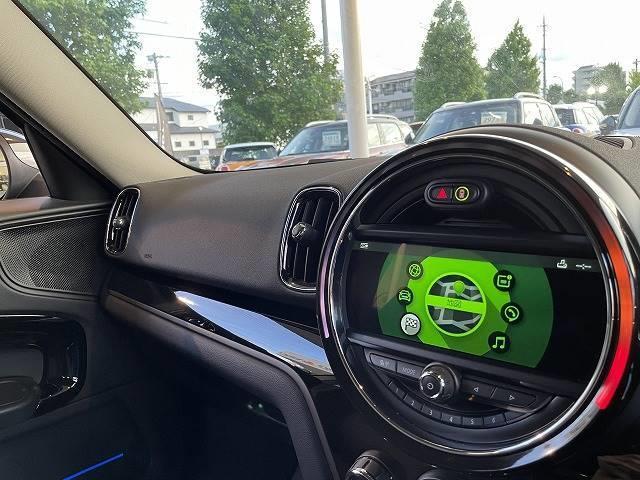クーパーD クロスオーバー 純正HDDナビ バックカメラ インテリジェントセイフ 追従クルコン リアソナー ETC パワートランク ステリモ Bluetooth LEDヘッド ルーフレール ブラックアルミ(4枚目)
