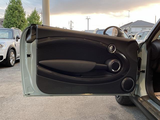 クーパーS 2DINナビ TV バックカメラ アイスブルー ハーフレザー オートエアコン クルーズコントロール パドルシフト 禁煙車 ブラックAW HIDヘッド ETC車載器 走行16000km(31枚目)