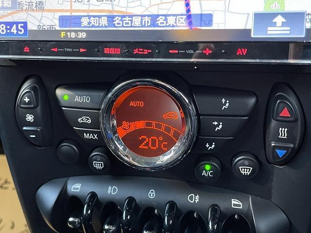 クーパーS 2DINナビ TV バックカメラ アイスブルー ハーフレザー オートエアコン クルーズコントロール パドルシフト 禁煙車 ブラックAW HIDヘッド ETC車載器 走行16000km(40枚目)