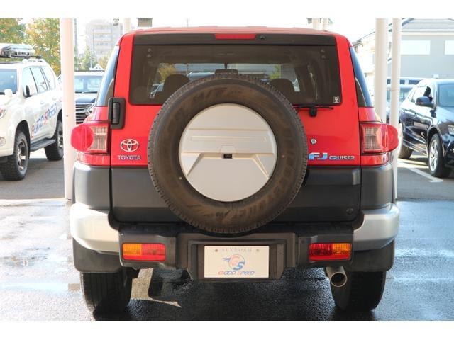 トヨタ FJクルーザー レッドカラーパッケージ 純正HDDナビ リアセンサー 保障証