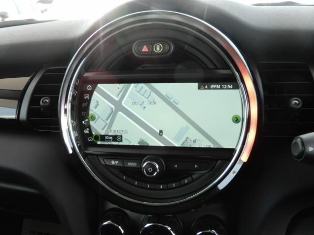 クーパーSD 3ドア 後期 純正HDDナビ インテリジェントセーフティ レーダークルーズ スマートキー ETC車載器 LEDヘッド(4枚目)