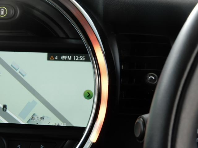 クーパーSD 3ドア 後期 純正HDDナビ インテリジェントセーフティ レーダークルーズ スマートキー ETC車載器 LEDヘッド(35枚目)