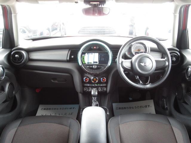 クーパー 1オーナー 純正ナビ ETC車載器 純正AW LEDヘッド レインセンサー 音ライト USBポート(3枚目)
