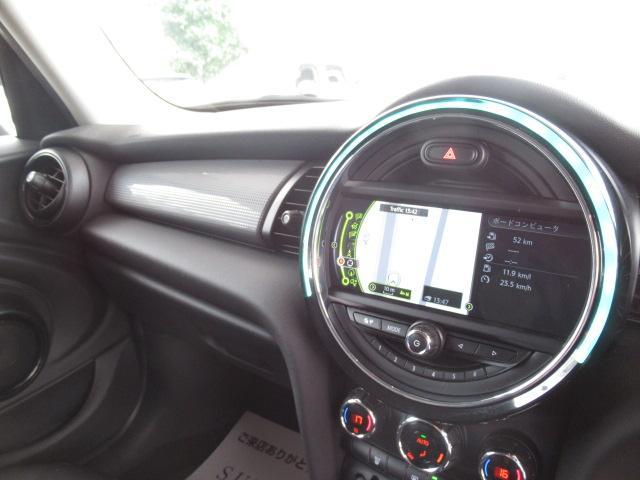 クーパー 1オーナー 純正ナビ ETC車載器 純正AW LEDヘッド レインセンサー 音ライト USBポート(4枚目)