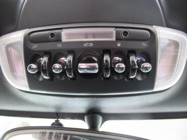 クーパー コンバーチブル ペッパーパッケージ 1オーナー スマートキー Bカメラ リアクリアランスソナー ユニオンジャックシートカバー(40枚目)