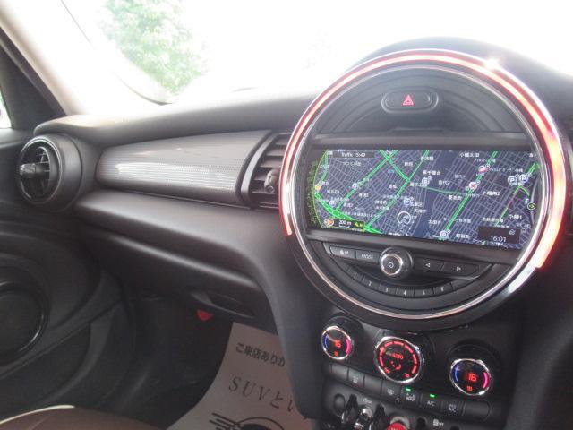 クーパー 1オーナー 純正HDDナビ ドライビングモード シートカバー オートエアコン MTモード ETC LEDヘッド(4枚目)