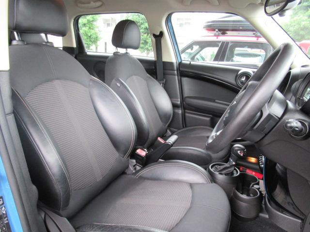 クーパーSD クロスオーバーマリン 特別仕様車 クルーズコントロール 専用ハーフレザーシート パドルシフト ETC車載器 AUX接続 キーレス(5枚目)