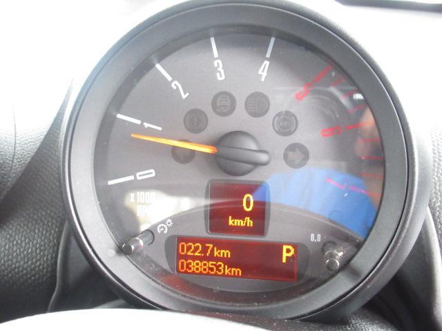 クーパーSD クロスオーバーマリン 特別仕様車 クルーズコントロール 専用ハーフレザーシート パドルシフト ETC車載器 AUX接続 キーレス(30枚目)