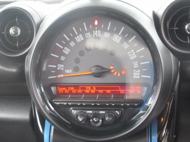 クーパーSD クロスオーバーマリン 特別仕様車 クルーズコントロール 専用ハーフレザーシート パドルシフト ETC車載器 AUX接続 キーレス(31枚目)