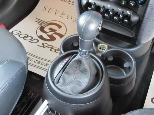 クーパーD クロスオーバー パークレーン ディーゼル ETC車載器 クルーズコントロール オートライト 純正AW ステアリングリモコン ルーフレール(11枚目)