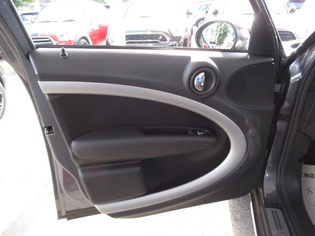 クーパーD クロスオーバー パークレーン ディーゼル ETC車載器 クルーズコントロール オートライト 純正AW ステアリングリモコン ルーフレール(25枚目)