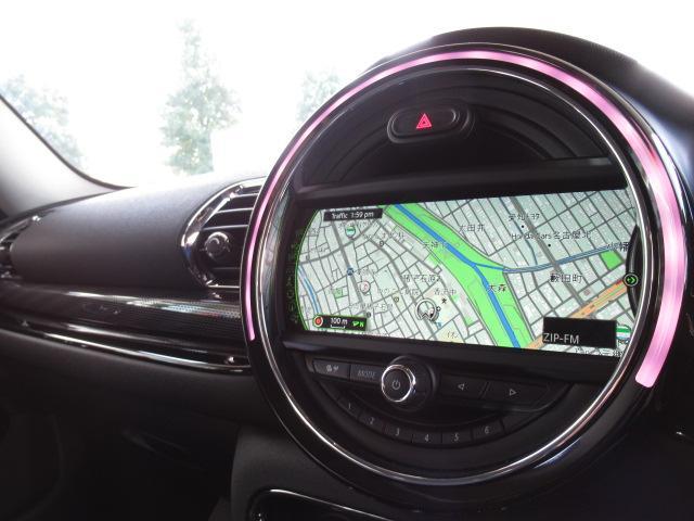 クーパー クラブマン 純正HDDナビ バックカメラ 地デジチューナー クルーズコントロール コンフォートアクセス レインセンサー バックソナー ETC車載器 オートライト オートエアコン(4枚目)