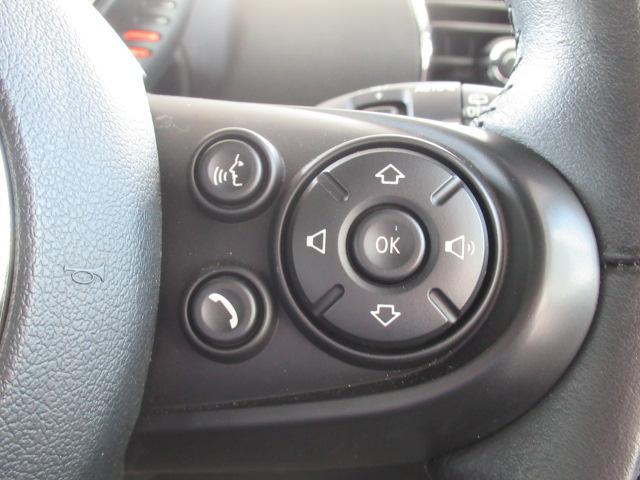クーパー クラブマン 純正HDDナビ バックカメラ 地デジチューナー クルーズコントロール コンフォートアクセス レインセンサー バックソナー ETC車載器 オートライト オートエアコン(31枚目)