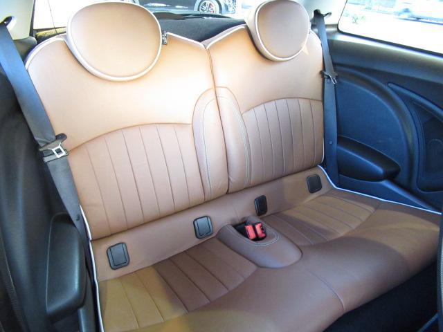 50 メイフェア 限定車 本革ブラウンシート シートヒーター CD ETC車載器 AUX端子 ホワイト17inアルミ アディショナルヘッド オートエアコン プッシュスタート(12枚目)