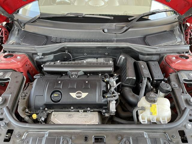 クーパー ペースマン ミントPKG ハーフレザー シートヒーター ブラックインナーHID ETC車載器 純正オプションアルミ キーレス プッシュスタート オートエアコン オートライト 熱線付きフロントガラス 禁煙車(14枚目)