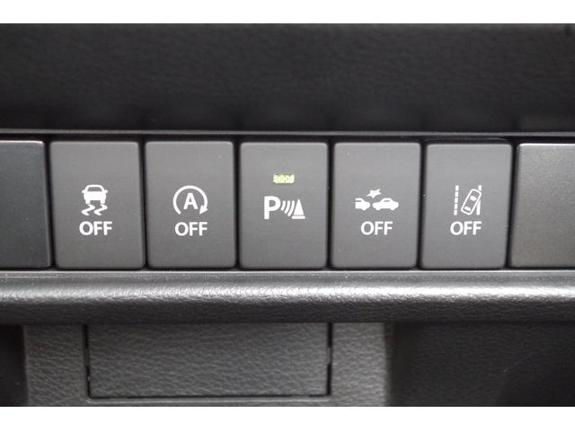 スズキの安全装備のレーダーブレーキサポート付いてます!