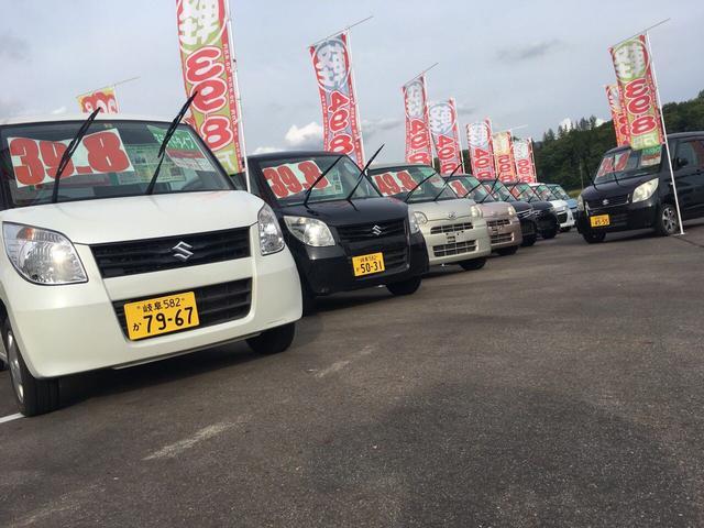 「スズキ」「ワゴンRスティングレー」「コンパクトカー」「岐阜県」の中古車42