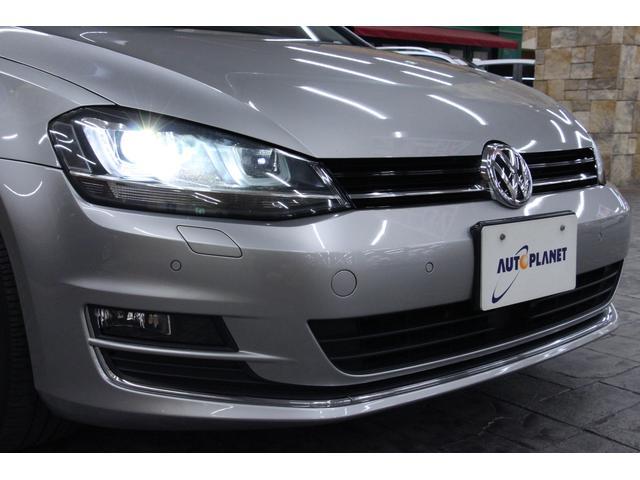 フォルクスワーゲン VW ゴルフヴァリアント TSIハイラインブルーモーションT 1オーナー ACC