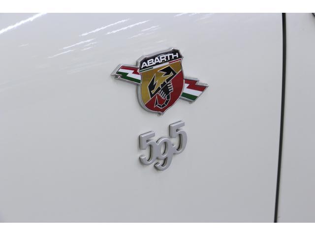 アバルト アバルト アバルト595 ツーリズモ 新車保証継承 赤革シート キセノン