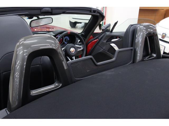 アバルト アバルト124 スパイダー ベースグレード 革シート スマートキー ナビTV