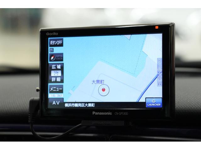 ゴリラのポータブルナビTV(ワンセグ)を搭載しているので、初めて訪れる場所へのドライブも安心ですね!