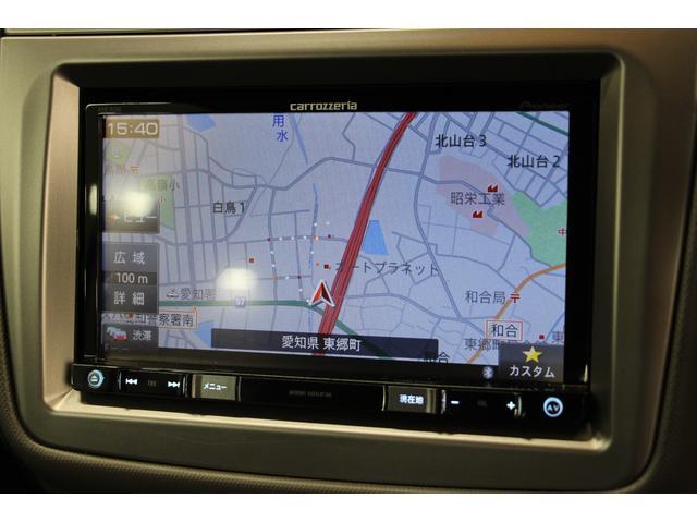 カロッツェリアSDナビTVを装備しているので、初めて訪れる場所へのドライブも安心ですね◎