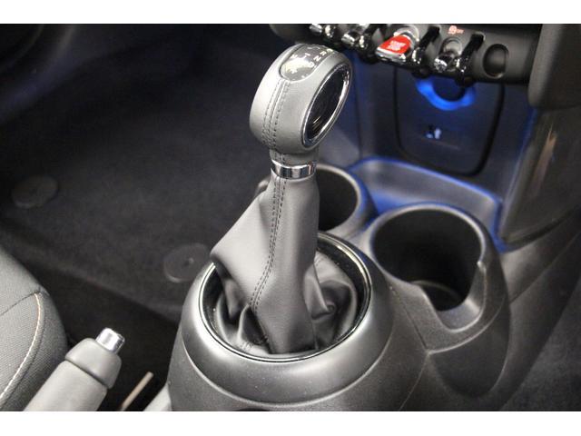 クーパーD 禁煙車 1オーナー 純正HDDナビ Bカメラ ETC LEDヘッドライト スマートキー アルミ CD クリアランスソナー オートライト オートワイパー インテリジェントセーフ アイドリングストップ(27枚目)