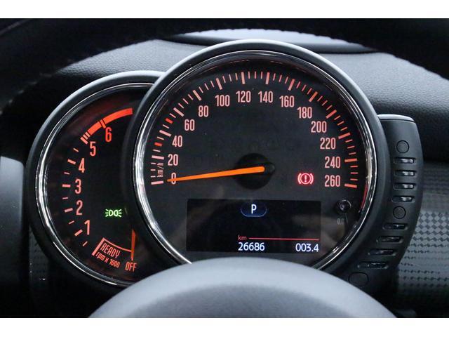 クーパーD ペッパーPKG/禁煙車/HDDナビ/ETC/LEDヘッドライト/スマートキー/アルミ/ヘッドアップディスプレイ/アイドリングストップ/ハンズフリー通話/Bluetoothオーディオ/5ドア/軽油(27枚目)