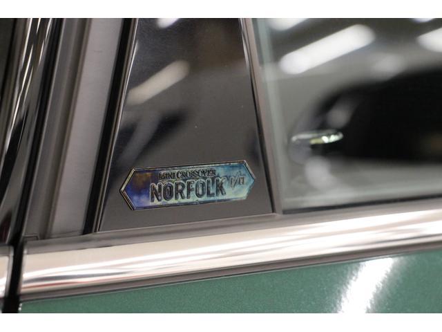 クロスオーバー ノーフォークエディション 禁煙車/300台限定車/ACC/専用ボンネットストライプ/専用ネームバッジ/アディショナルLEDヘッドランプ/ピクニックベンチセパレーションネット/アダプティブLEDヘッドライト/リアビューカメラ(16枚目)