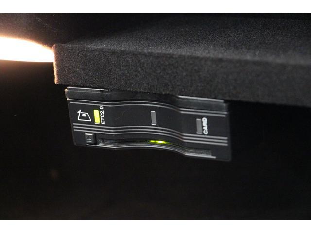グローブボックス内に、ETC2.0の車載器が装着されています。