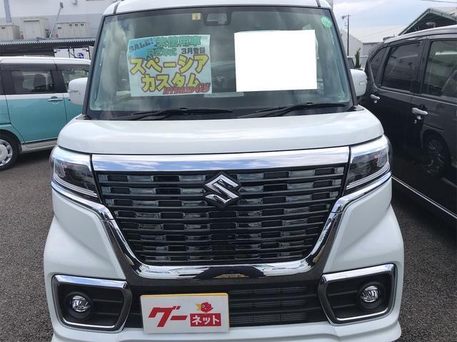 「スズキ」「スペーシアカスタム」「コンパクトカー」「愛知県」の中古車3