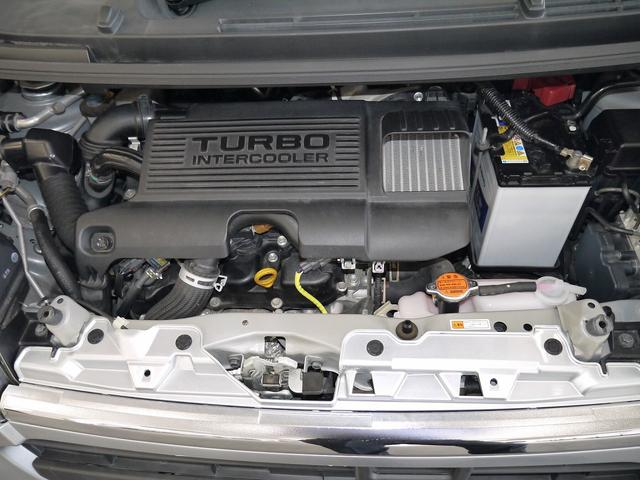 DOHC 12バルブ インタクーラーターボ パワフルでありながら、優れた環境性能を発揮!