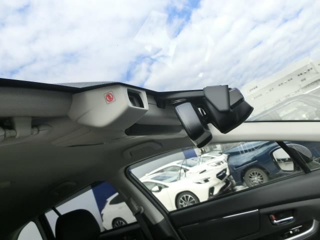 アイサイトがお客様の運転を見守ります。安全だけでなく、クルーズコントロールで前の車についていく機能も追加されています