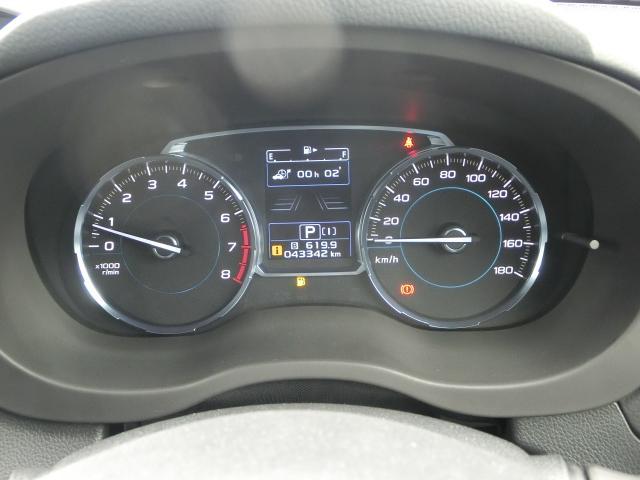 スピードメーターの中にも、様々な車両情報をご確認いただけます