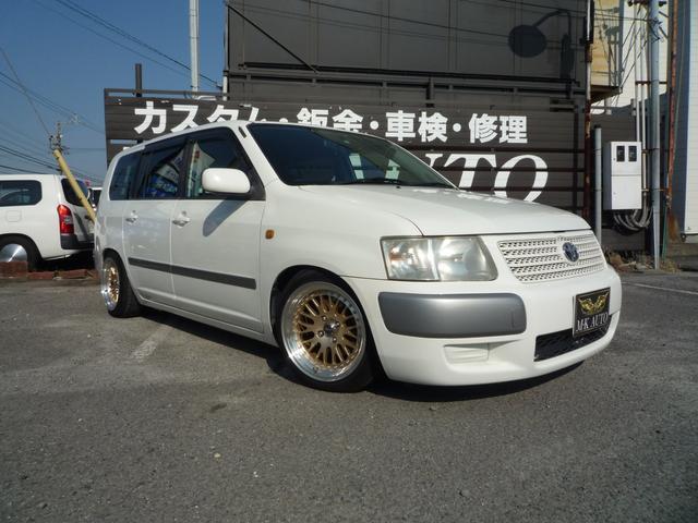 トヨタ サクシードワゴン TX Gパッケージ 車高調 アルミ キーレス
