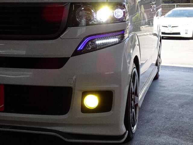 G・Lパッケージ 禁煙車 フルエアロパーツ BLITZ車高調 シルフブレイズマフラー SSR16インチアルミホイール  社外SDナビ フルセグTV走行中視聴可能 バックカメラ Bluetooth対応  社外テールレンズ(16枚目)