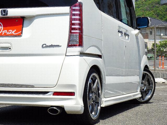 G・Lパッケージ 禁煙車 フルエアロパーツ BLITZ車高調 シルフブレイズマフラー SSR16インチアルミホイール  社外SDナビ フルセグTV走行中視聴可能 バックカメラ Bluetooth対応  社外テールレンズ(18枚目)