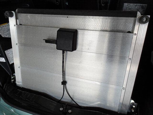 X 車いす仕様車スロープタイプタイプI助手席側リアシートなし 禁煙車 純正SDナビ ワンセグTV バックカメラ ステアリングスイッチ ヘッドライトレベライザー エンジンスターター 電動格納ミラー(60枚目)