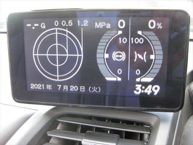 α F6速 社外新品アルミ アクティブリアスポイラー センターディスプレイ アシンメントリーハーフレザーシート センターディスプレイ(35枚目)