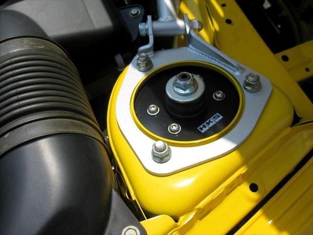 α HKS車高調 HKS2本出しマフラー ワーク製アルミ付き シティブレーキアクティブシステム センターディスプレイ バックモニター ETC クルーズコントロール(48枚目)